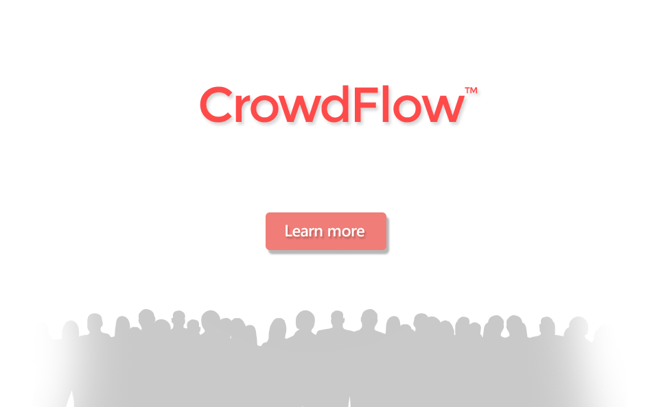 CrowdFlow - simplified planning for large crowds